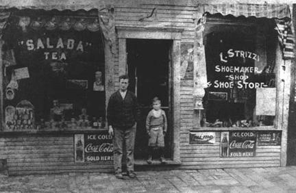 Strizzi Restaurant Storefront 1929